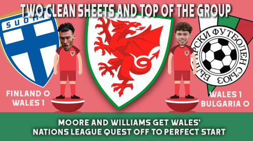 Perfect start to Wales' Nations League campaign