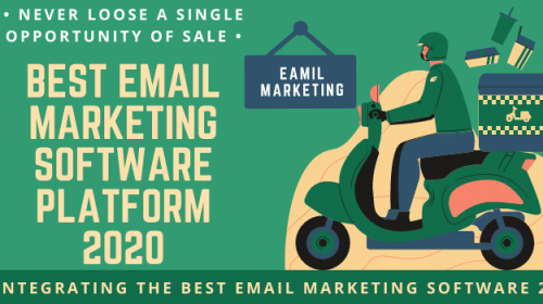 Email marketing software platforms 2020