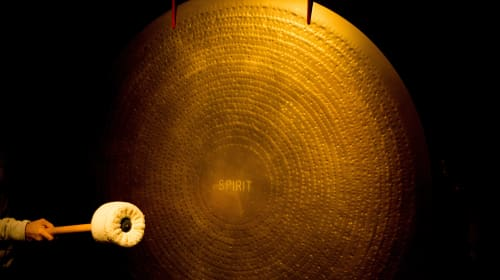 Have You Experienced a Full Moon Gong Bath?