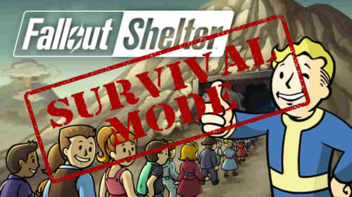 5 Tips For Surviving Fallout Shelter Survival Mode