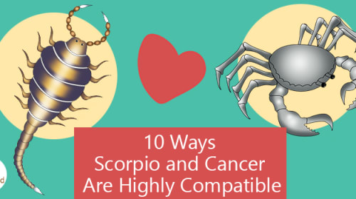 10 Ways Scorpio and Cancer Are Highly Compatible