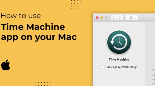 How to Back up Your Mac With the Time Machine App