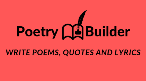 Various Poetry Apps for Writers and Readers