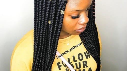 Braids and Style Women Loving Knotless Look