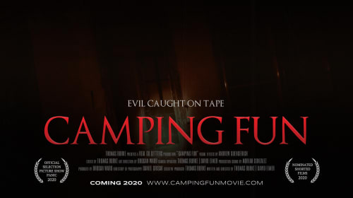 """Review of """"Camping Fun"""", A Short Horror Film"""