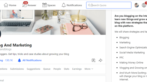 5 Tips To Grow Your Quora Space To Over 130K Followers
