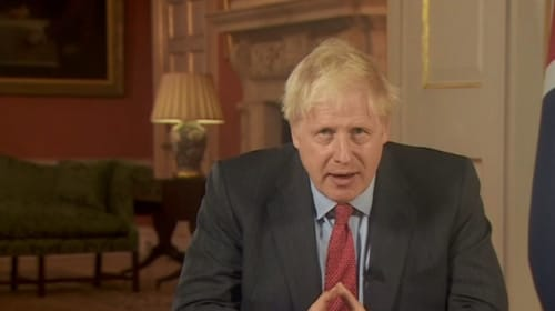 Boris Johnson Addresses The Nation To Introduce New Measures To Tackle Covid 19