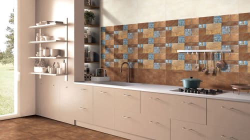 Breathe life into your kitchen by picking the right kitchen tiles