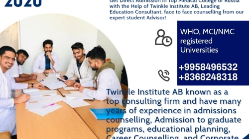 Best Russia Medical College List 2020-21 Twinkle InstituteAB