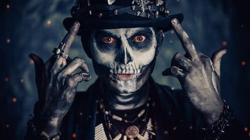 Visit from Voodoo Man