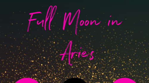 Firey Full Moon In Aries on October 1