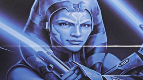 BREAKING: Rosario Dawson as Ahsoka Tano Revealed on Star Wars Merch!