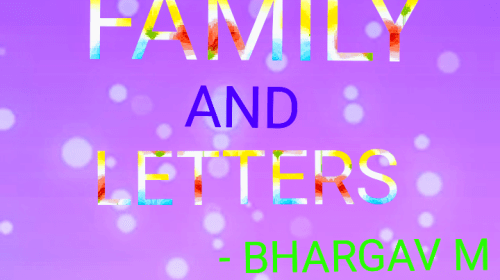 Family And Letters
