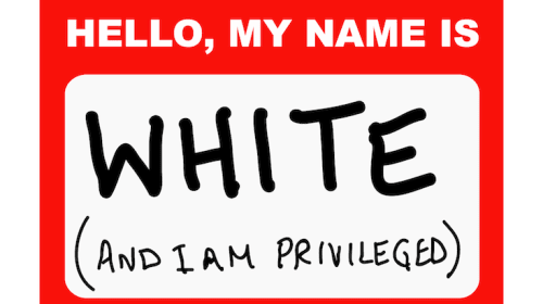 I am not white privilege