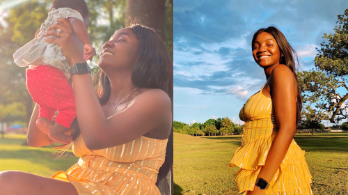 """What Happened Baby?"" - Simi Shares Her Daughter's Unexpected Reaction To Song, Duduke (VIDEO)."
