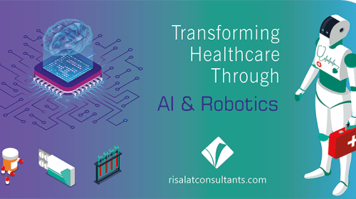 Transforming Healthcare through Artificial Intelligence and Robotics