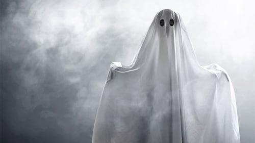 Ghost! Was I hallucinating?