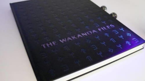 Black Panther Book Titled 'The Wakanda Files' Unveiled
