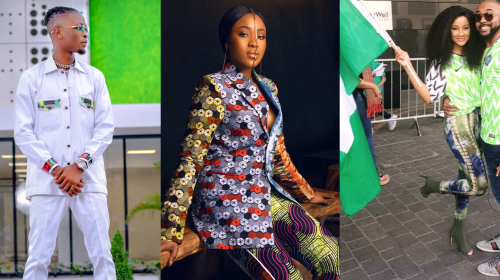 See How 15 Nigerian Celebrities Celebrated Independence Day (Photos).