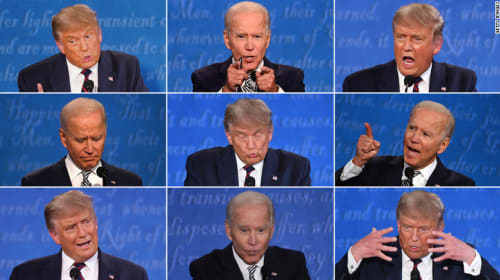 Chaotic First Presidential Debate