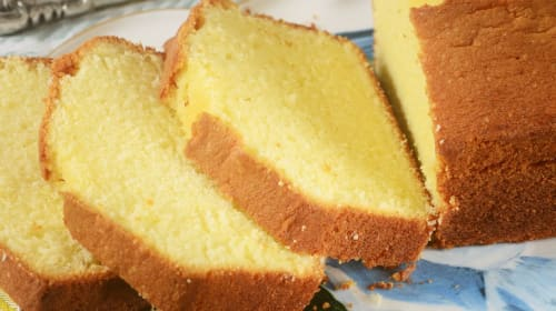 How Pound Cake Got Its Name