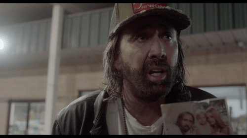 BETWEEN WORLDS: a deliriously bonkers (and bad, but brilliant, but mostly bad) supernatural-horror-thriller-erotic-drama-comedy, starring Nicolas Cage as a shagaholic Deep South trucker.