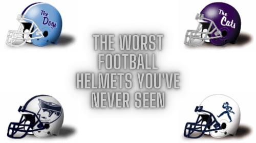 The Worst Football Helmets You've Never Seen