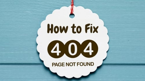 What is the 404 error and How to fix it?