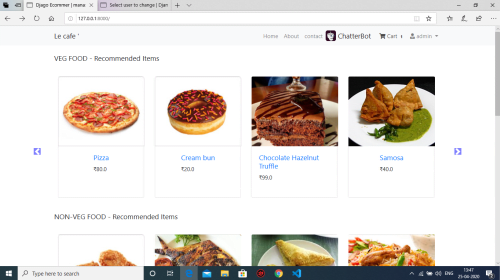Digital Menu Cards for Restaurants and Ordering System Using QR Code Scanning