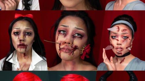 Disney Princesses turned Gore