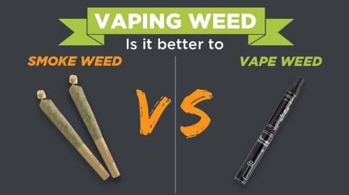Is Vaping Weed Healthier than Smoking?
