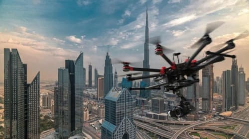 Top 5 drone photography in UAE