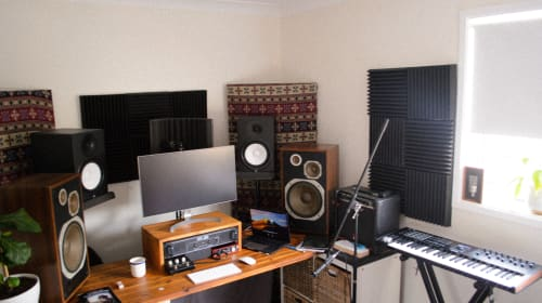 Recording at home (quick guide)