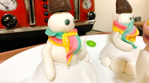 Layered Snowmen Desserts
