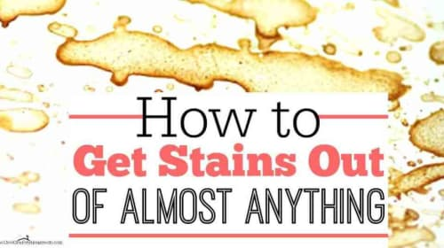 How to get stains out of the convertible top
