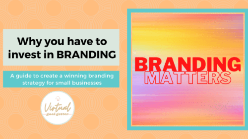 Why You Have To Invest in Branding— Especially for Startups and Small businesses