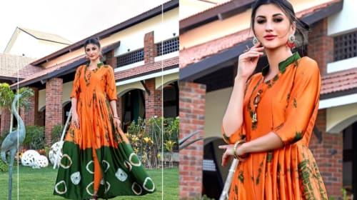 Enhance Your Stylish Personality with Printed Kurtis Online
