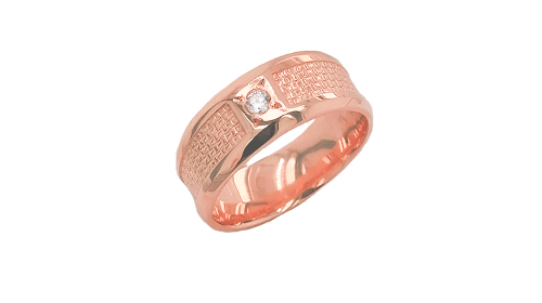 Rose Gold Bridal Jewelry : For Bride and Groom