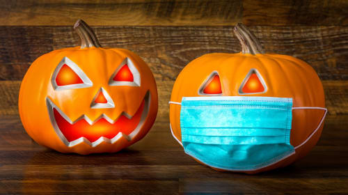 A Safe but Spooky Halloween:
