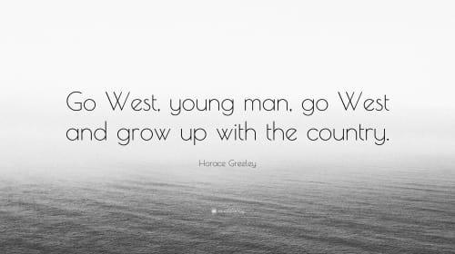 Go West America
