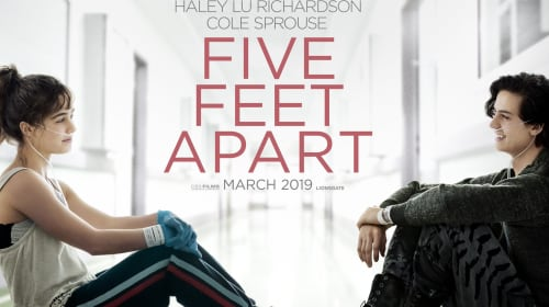 """""""Five feet apart"""" aka. did this movie just become our life?!"""