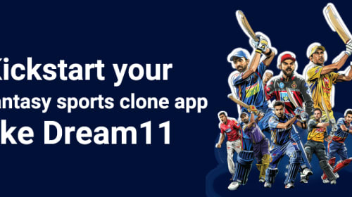 Kickstart your fantasy sports clone app like Dream11