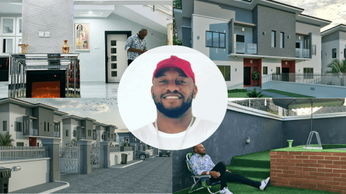 Inside Yul Edochie's Expensive New Mansion (Photos).