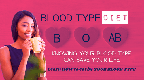 """Have you ever looked up your """"Blood Type Diet?"""""""