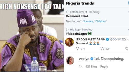 21 Nigerian Celebrities React to Desmond Elliott's Controversial #EndSARS Speech.