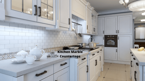How to clean kitchen marble countertops