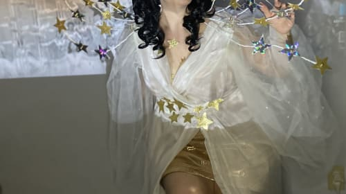 Hedy Lamarr's Ziegfeld Girl Star Dress