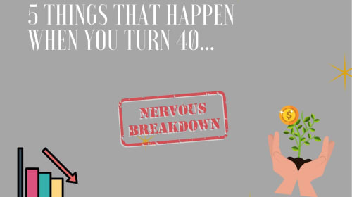 5 Things That Happen When You Turn 40