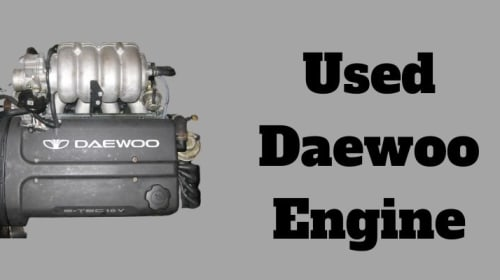 Available Used Daewoo Engines For Sale