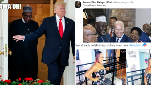 11 Nigerian Celebrities React to Joe Biden Winning U.S. Presidential Election.
